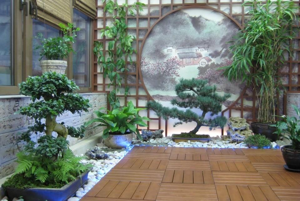 Стили зимнего сада. Японский стиль